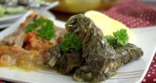 feuilles de blettes farcies- recette libanaise