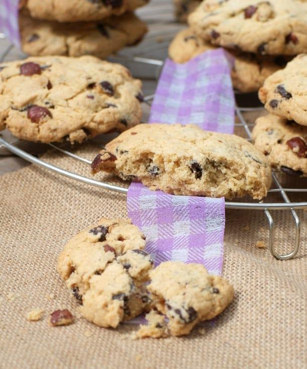 cookies sans gluten aux noisettes