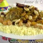 recette du couscous marocain a la tfaya