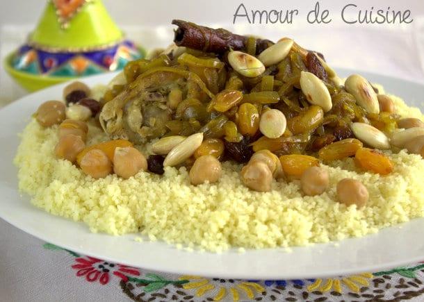 Couscous tfaya dans cake ideas and designs for Cuisine marocaine