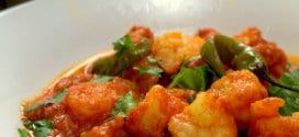tajine de crevettes pili pili ou piri piri