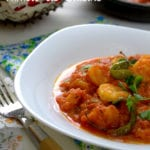 recette de tajine de crevettes pili pili a la marocaine
