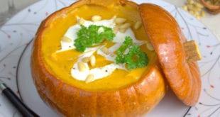 potage de citrouille rotie