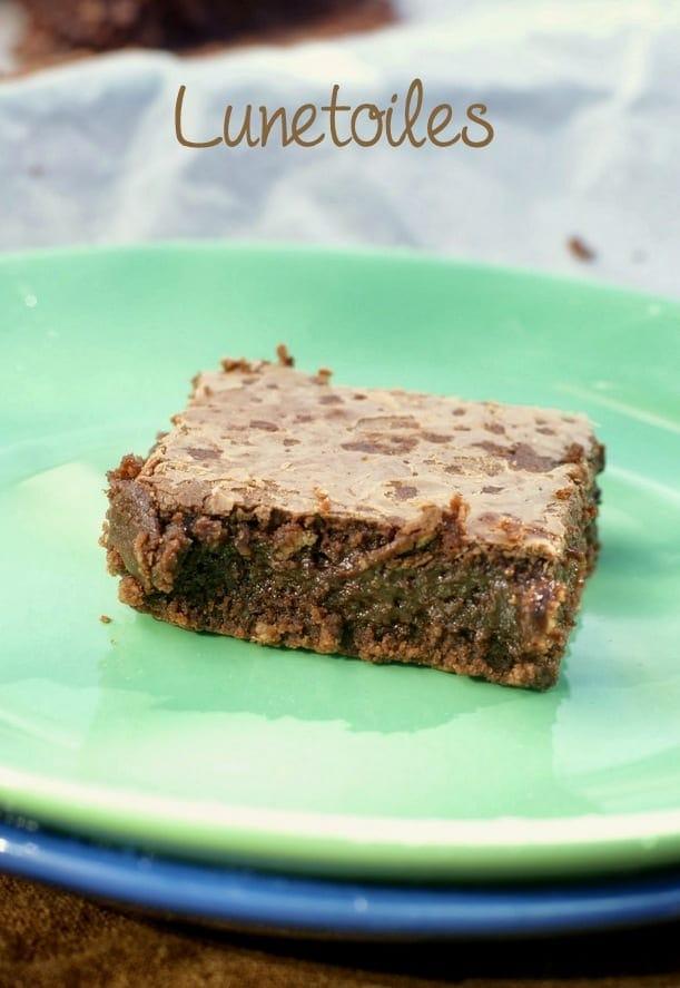 brownies au chocolat et noisettes