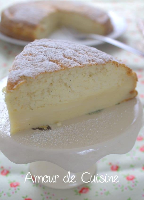 gâteau magique a la vanille