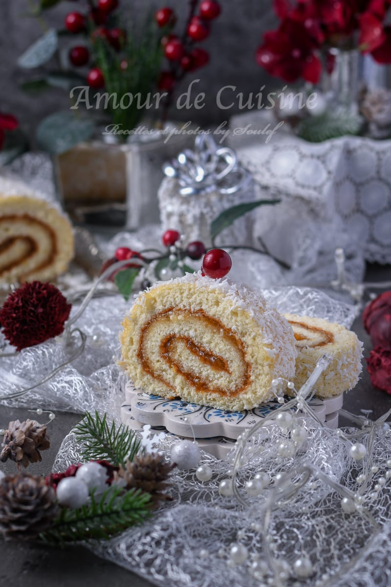 Génoise pour biscuit roulé léger
