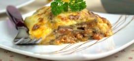 recette lasagnes aux aubergines