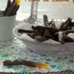 orangettes au chocolat, panier gourmand