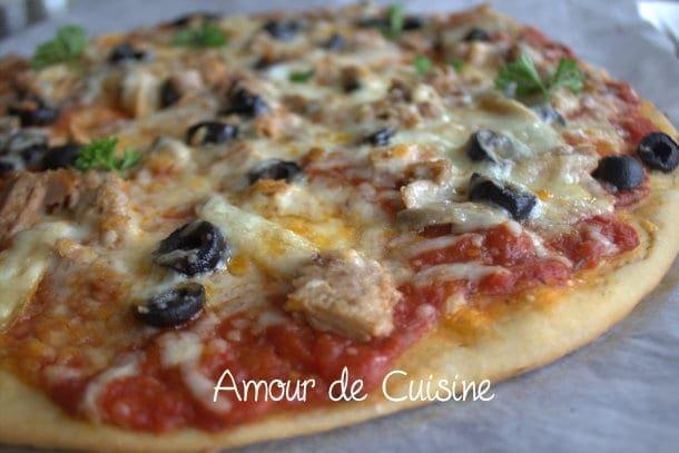 Recette d 39 une pizza au thon for Amour de cuisine 2014