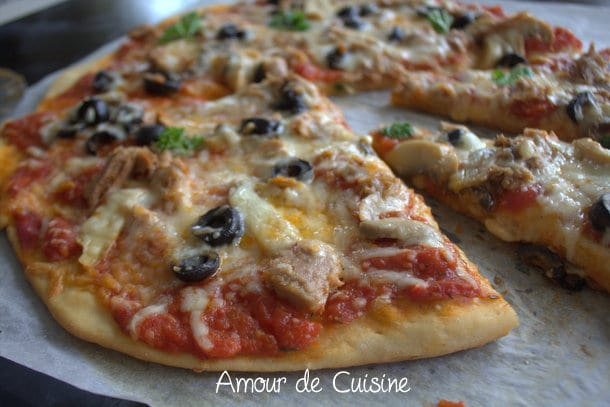 Cake Au Thon Fromage Blanc Tomate Champignons