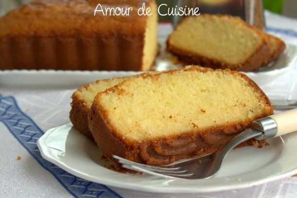 Recette quatre quart pur beurre barre bretonne amour de cuisine - Recette amour de cuisine ...