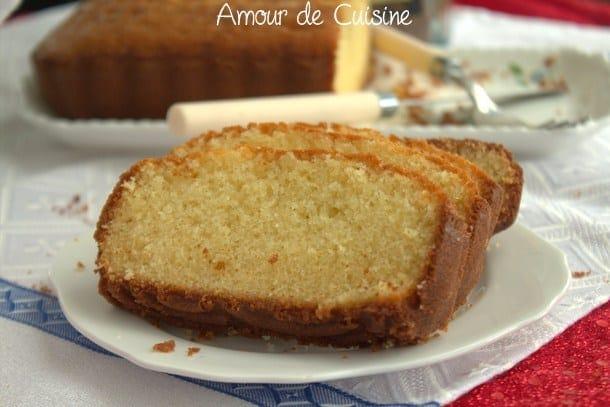Recette Quatre quart pur beurre barre bretonne