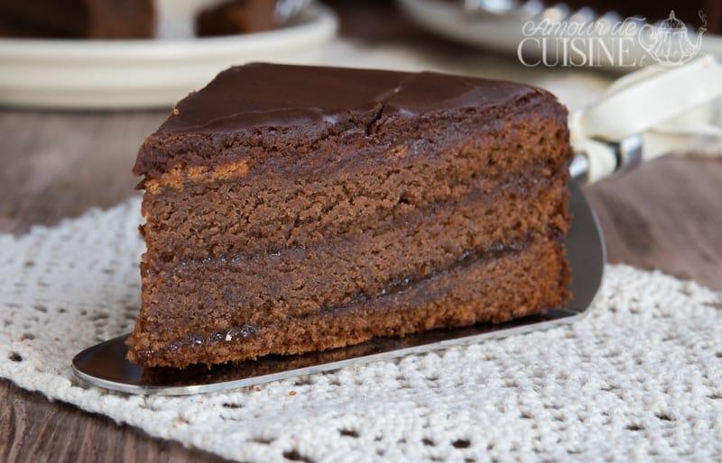 recette de sachertorte, gateau au chocolat autrichien 1