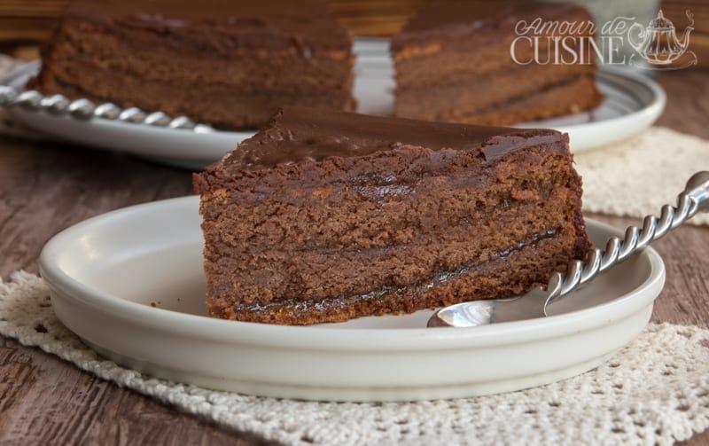 Sachertorte recette gateau autrichien au chocolat amour de cuisine - Recette amour de cuisine ...
