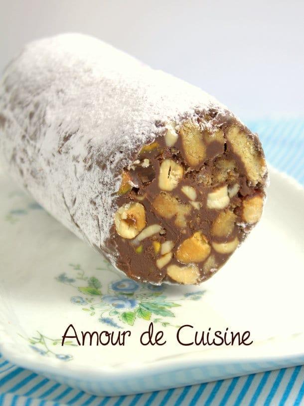 saucisse mendiant chocolat , cadeau gourmand 3