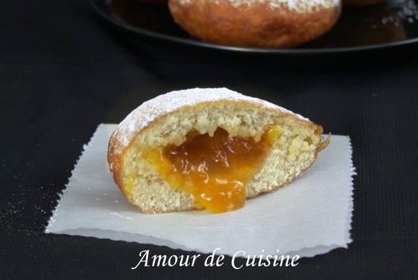 Beignets a la confiture donuts la confiture amour de for Amour de cuisine 2015