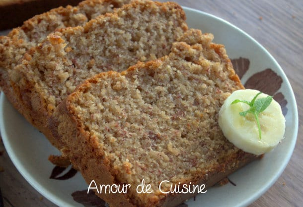 la meilleure recette du banana bread cake amour de cuisine. Black Bedroom Furniture Sets. Home Design Ideas