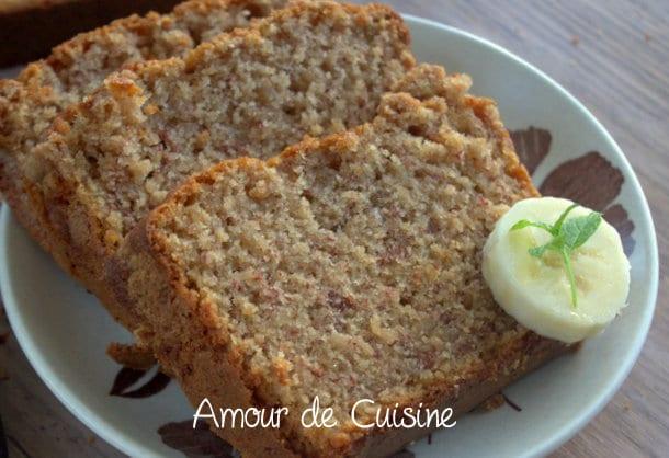 Recette Cake  Ef Bf Bd La Banane