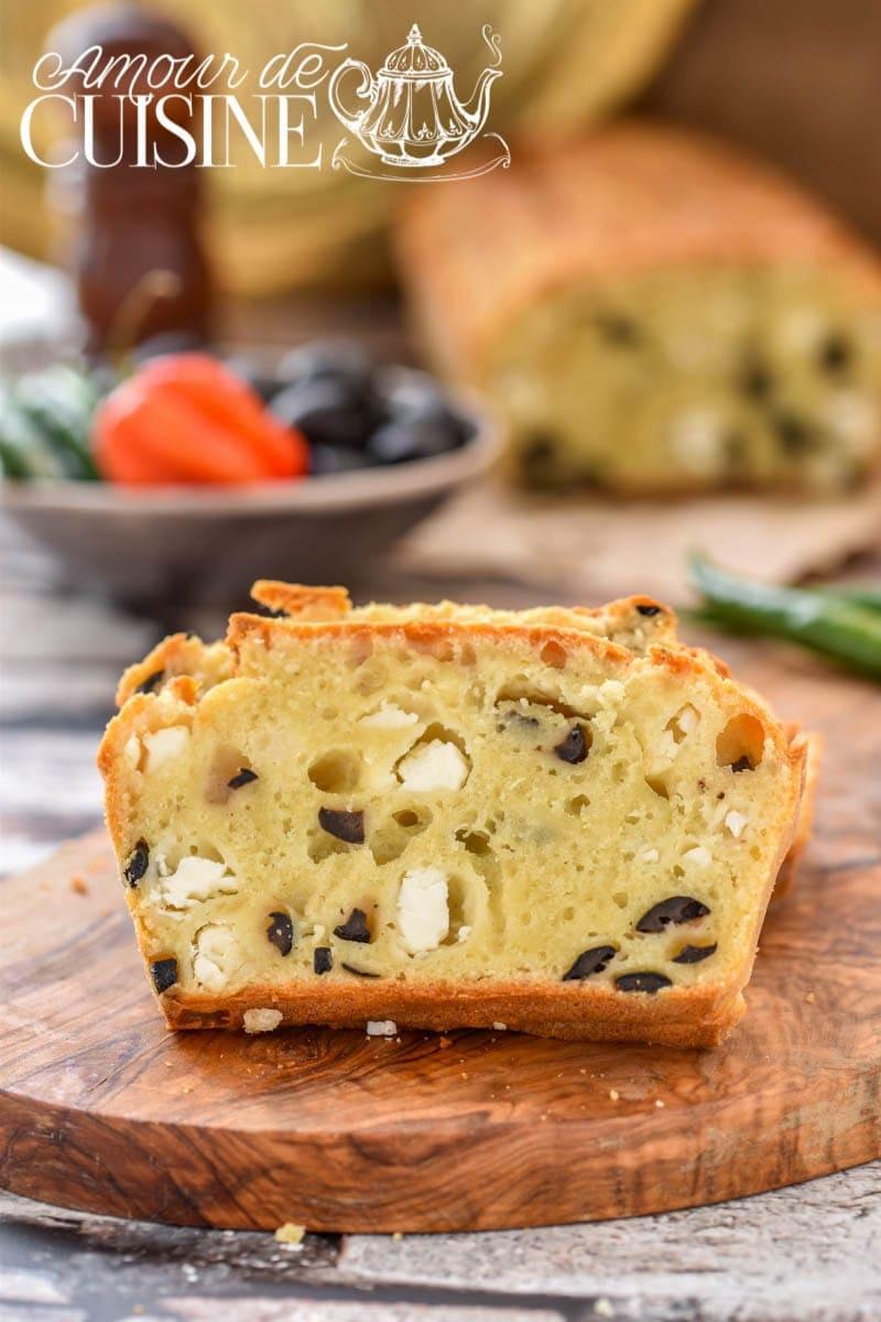 cake salé aux olives et féta_