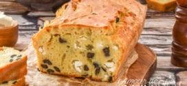 cake salé  aux olives et Feta