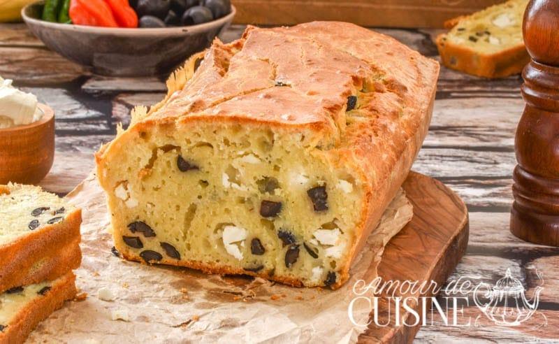 Cake Sal Ef Bf Bd Aux Olives Sans Lait