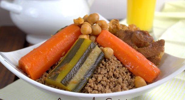 Couscous aux glands couscous bel baloute