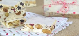 Nougat blanc aux fruits secs