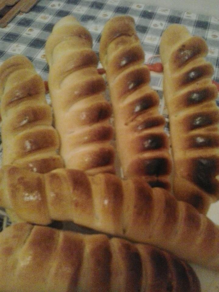 pain farcie a la viande de Wissal