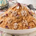 rfiss constantinois, recette en vidéo de la cuisine algerienne
