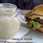 sauce burger fait maison