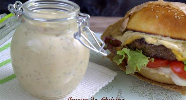 sauce pour burger maison la meilleure