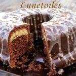 bundt cake au chocolat et beurre de cacahuetes 1