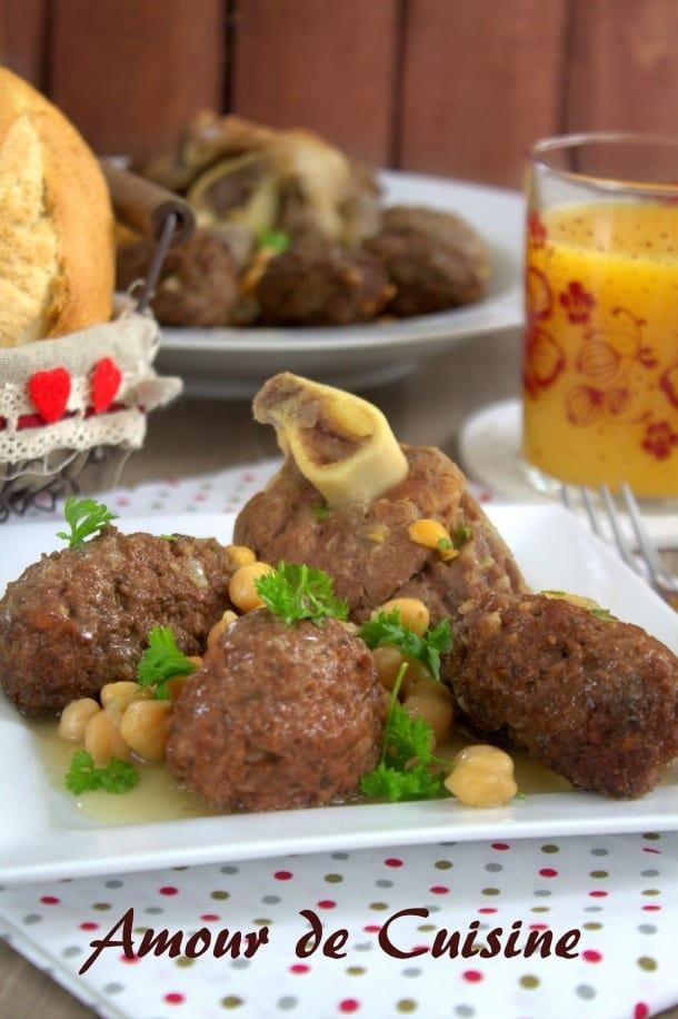 Tajine boulettes de viande farcies aux oeufs amour de cuisine for Algerienne cuisine