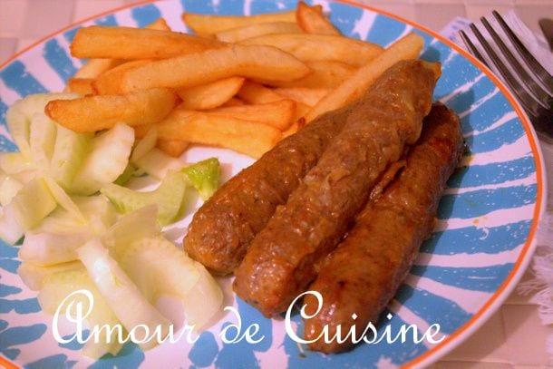 Recette de merguez fait maison amour de cuisine - Recette amour de cuisine ...