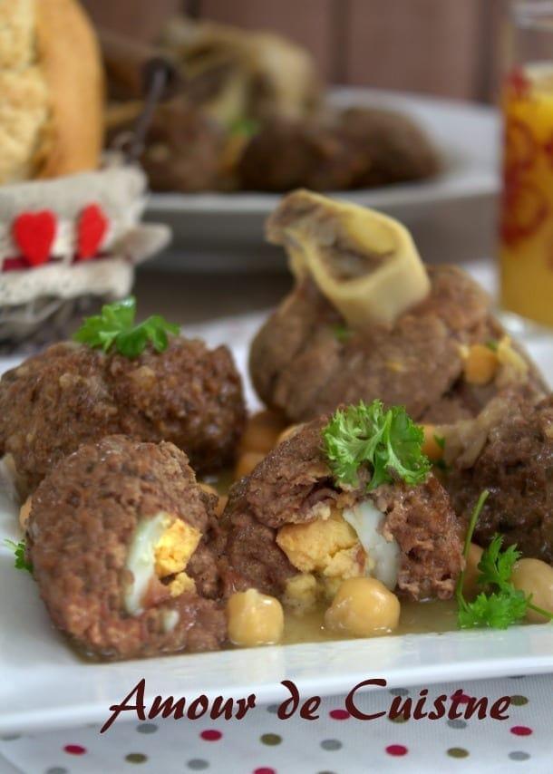 Tajine boulettes de viande farcies aux oeufs amour de cuisine - Video amour dans la cuisine ...