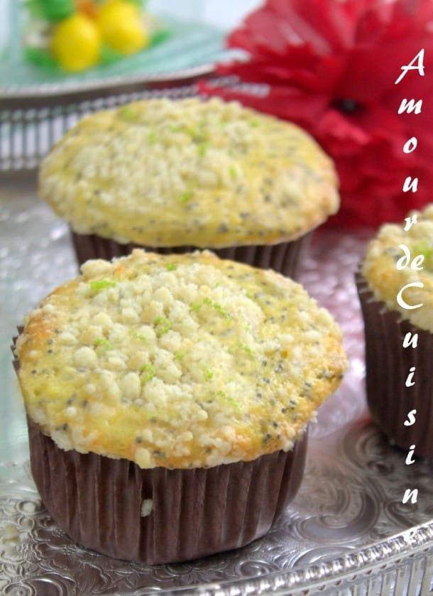 muffins au citron et graines de pavot 5