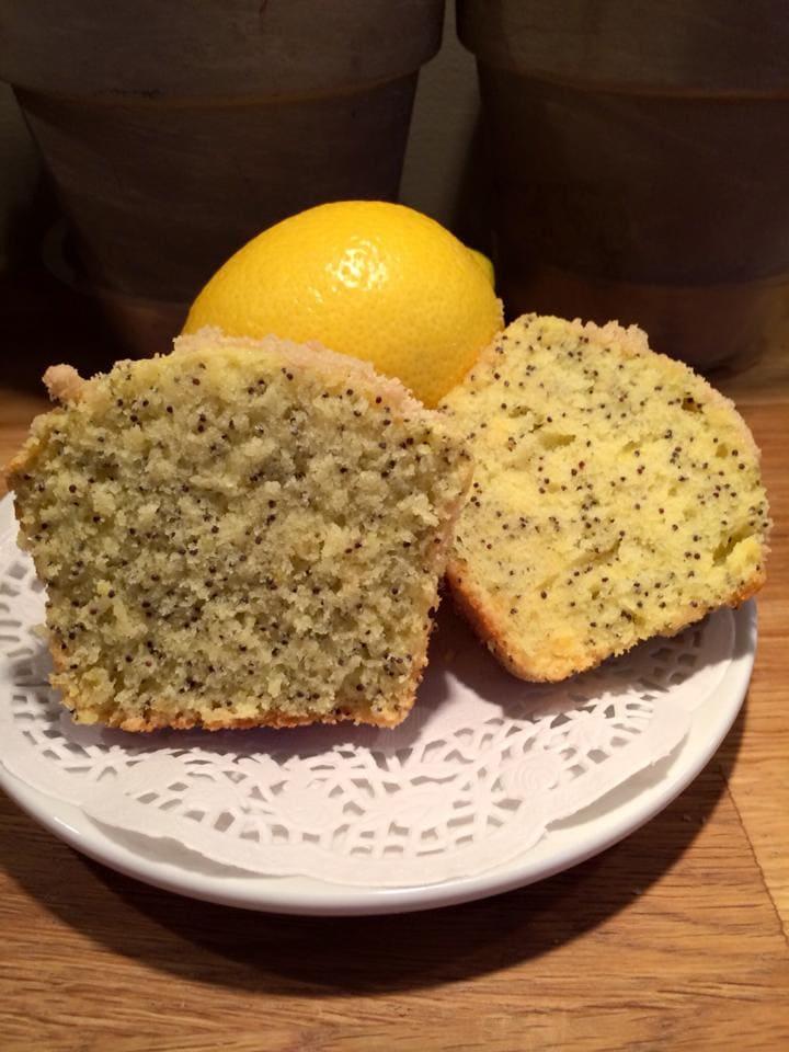 muffins aux grains de pavot de Nicole