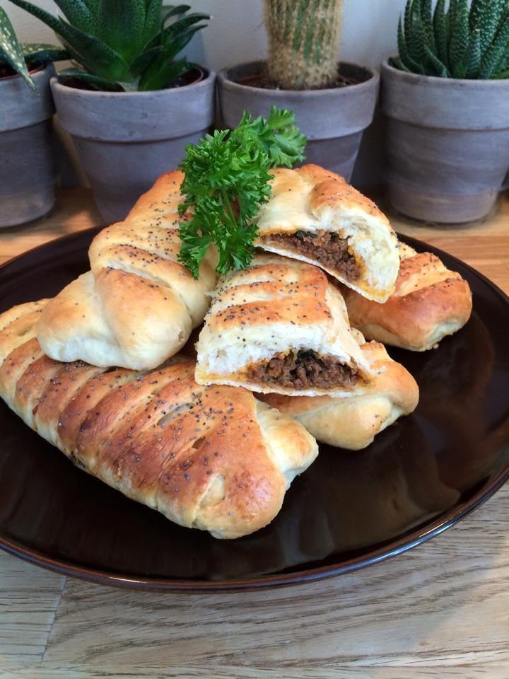 pains a la viande haché chez nicole