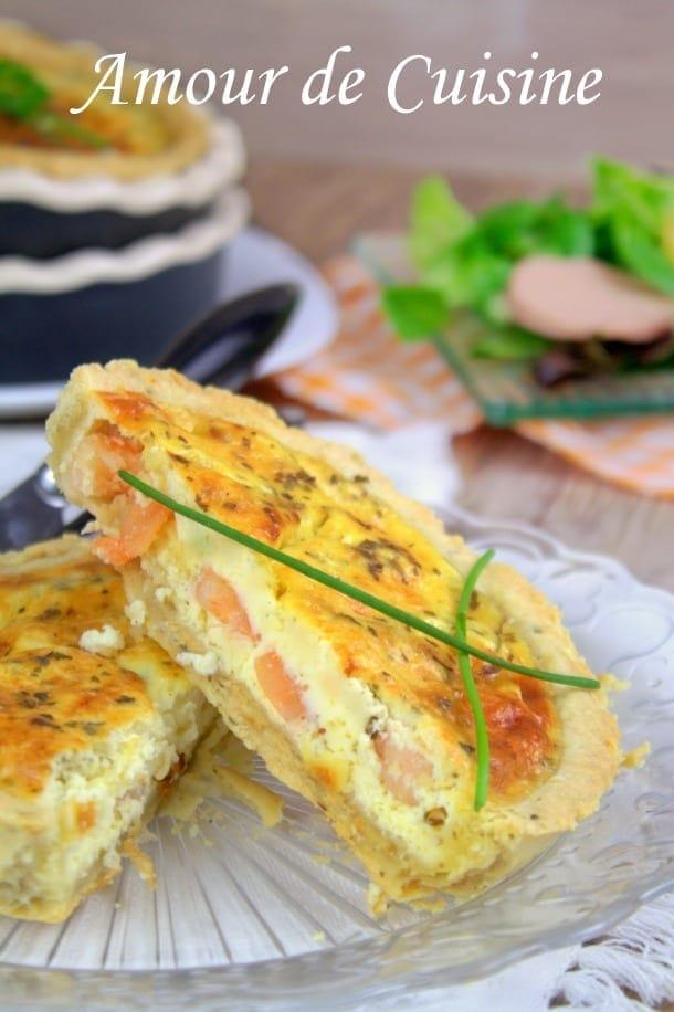 Quiche aux crevettes amour de cuisine for Amour de cuisine ramadan 2015