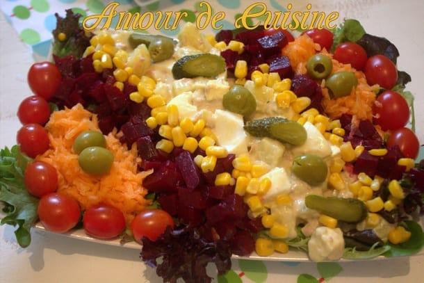 salade de pommes de terre composée.CR2