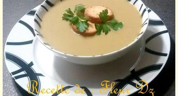 soupe a la laitue et petits pois