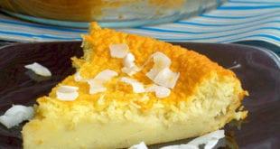 tarte au lait de coco