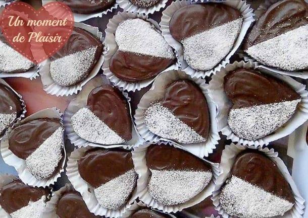 coeurs sablés au chocolat 1