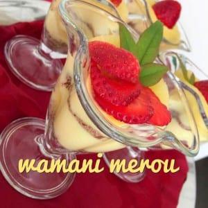 creme dessert a l'ananas 1