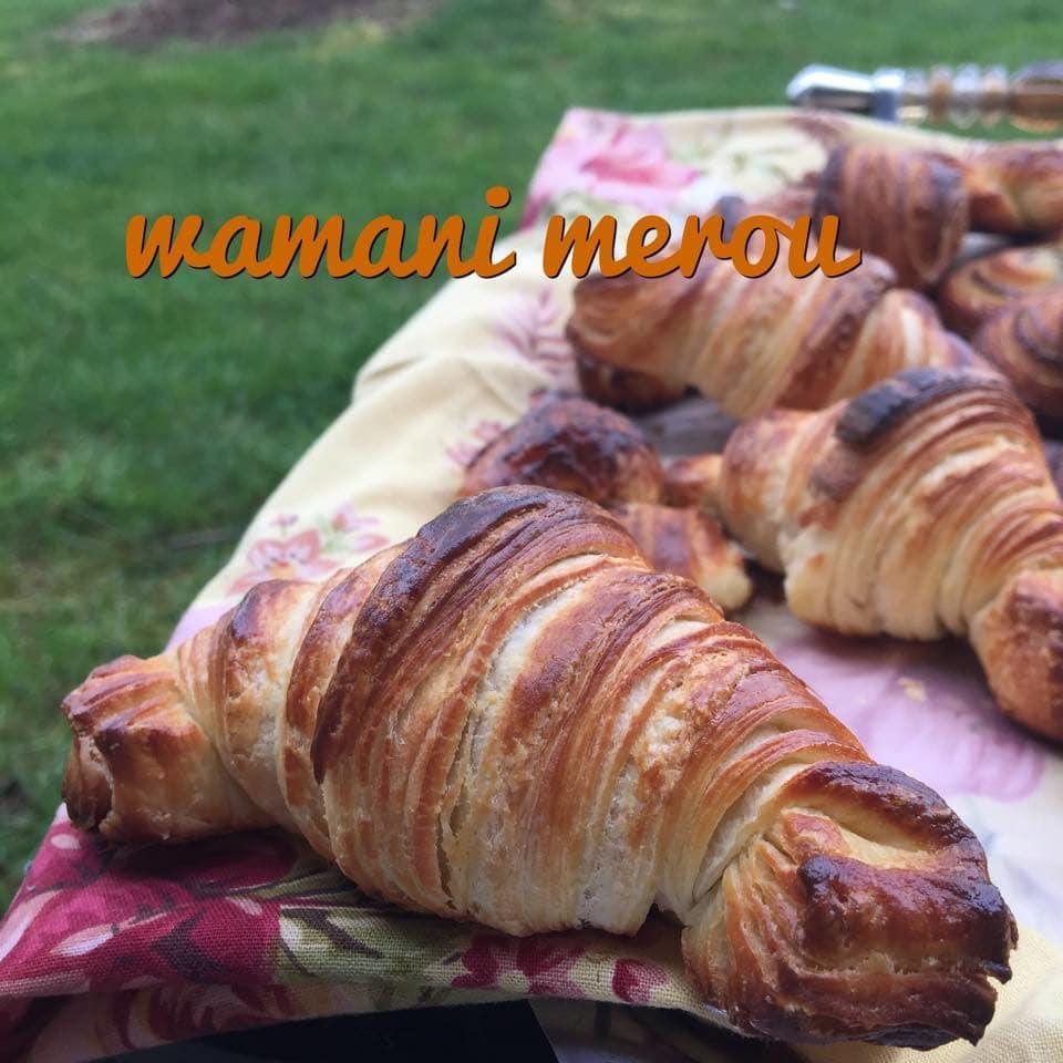 croissants feuilletées au chocolat wamani