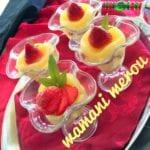 Crème dessert a l'ananas
