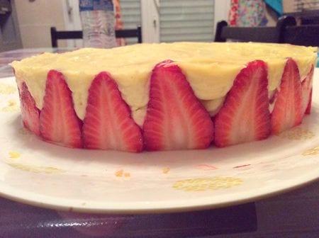 fraisier chez Rachid rach
