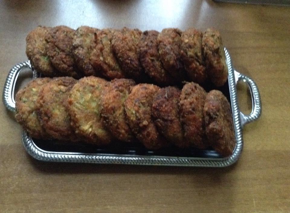 galettes de courgettes de kari ben