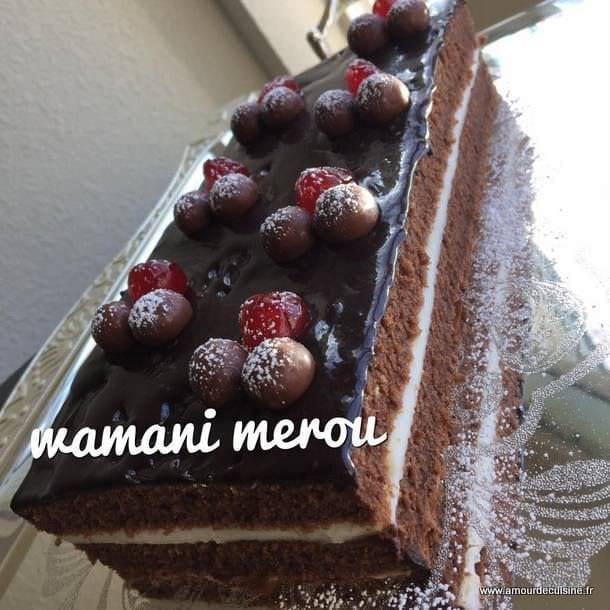 gateau moelleux au chocolat a la creme