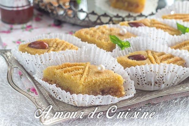 Makrout sniwa ou makrout fa on baklawa amour de cuisine for Amour de cuisine kalb el louz